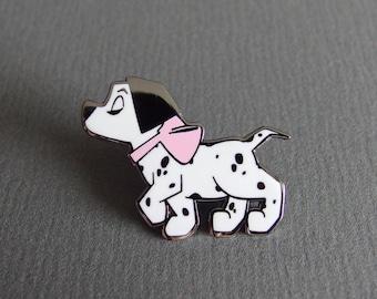 Spotty Pup Enamel Pin