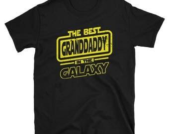 Granddaddy Shirt - The Best Granddaddy In The Galaxy - Granddaddy Gift T-Shirt
