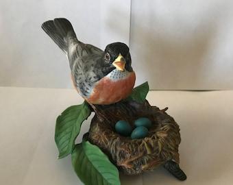 Vintage Lenox American Robin Bird Figurine 1989