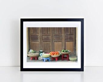 Vegetables from Vietnamese Market - Travel Photograph