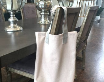 Large Blended Wool Tote