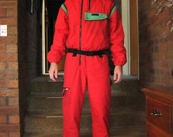 Vintage 80's MG Action Men's Ski Suit