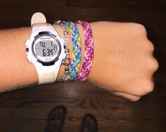 Rag Rug Friendship Bracelet