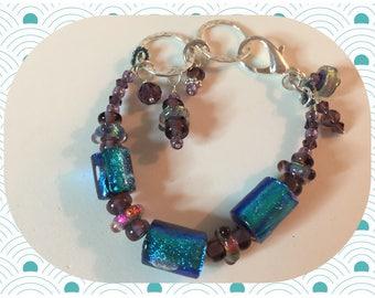 Iridescent Bracelet - Beach Girls Beads and Bling