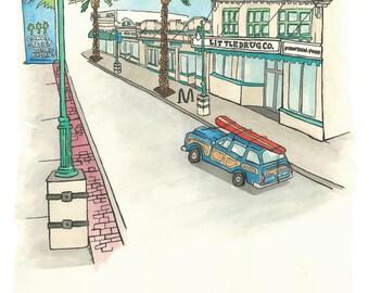 Canal Street - New Smyrna Beach