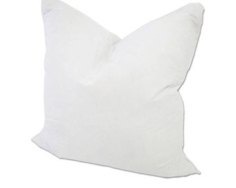 """24x24"""" Pillow Insert Synthetic Down, Down alternative pillow insert, hypoallergenic pillow insert"""