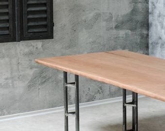 """Dining table """"Urban"""" - Solid wood (Cherrywood)"""