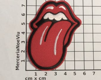 Rolling Stones Popular Iron-On Patches