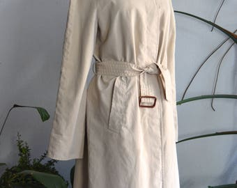 Vintage Burberry Trench Coat, size Small