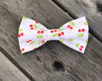 Cherry on Top pet bow tie