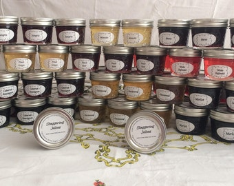 Wine Jelly Wedding Party Favors 100+  4 oz. Jars