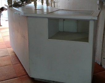 Checkout Counter with Display Case
