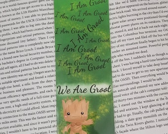 Guardians Tree - Geeky Bookmark