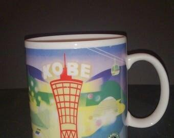Starbucks Japan Kobe Limited City Mug Cup Old Logo
