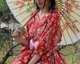 Temari Fantasy 手毬ファンタジー Kimono Dress set