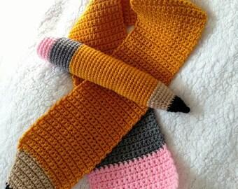 Handmade Crochet Pencil Stuffie