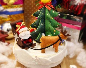 DIY Kit Christmas Mysterious Gifts Music Box