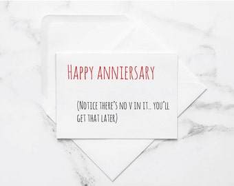 printable dirty anniversary card, naughty card, naughty anniversary, anniversary card, funny love card, card for husband, card for boyfriend