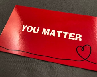 YOU MATTER Cards (Box of 250)