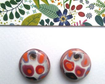2 ceramic pendants made in Provence