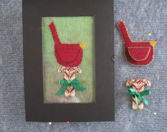 Christmas Cardinal Cross Stitch Chart