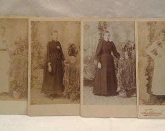 Antique  photos of lovely ladies