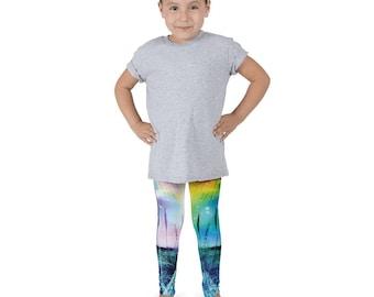 Fun Kids Print, Kid's leggings, Printed Leggings, Cactus Print, Galaxy Leggings, Space Leggings, Kids Pants, Kids Yoga Pants, active wear