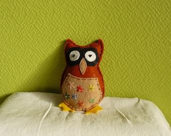 Medium - model a family of owls-