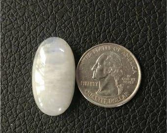 29.40 x 16.12 MM,Ovel Shape Rainbow Moonstone,wire wrap stone/moonstone Cabochon/,silver jewelry/ Ovel moonstone cabochon/AAA  Moonstone