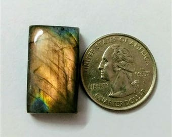 25.70 x 15.75 mm,Octogen Shape  Labradorite Cobochon/purple Flash labradorite/voilet flash labradorite/wire wrap stone/Super Shiny/Pendant C