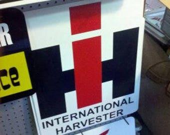 International Harvester 23x15x1 metal sign