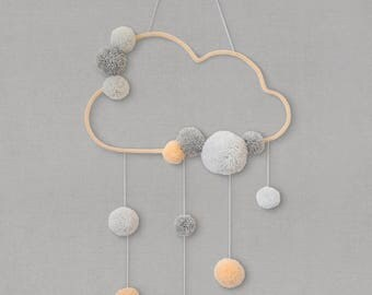 applique murale nuage. Black Bedroom Furniture Sets. Home Design Ideas