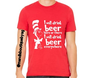I will drink beer here and there