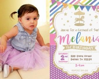 Birthday Photo Invite