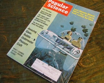 Vintage Popular Science Magazine July 1966 - Ads - Cars - Batman and the Batmobile - and So Many More Fascinating Articles!