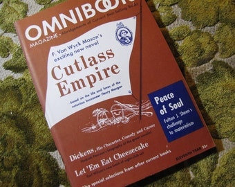 Vintage Omnibook Magazine September 1949 Issue - Best Selling Book Abridgements Cutlass Empire, Dickens, Peace of Soul, and More!