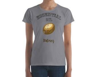 Essential Oil Nutmeg Women's short sleeve t-shirt