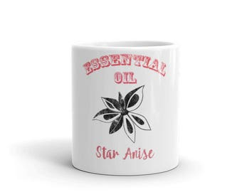Essential Oil Star Anise Mug