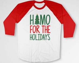 Gay T Shirt Christmas Shirt Holiday Gifts Gay Pride Clothing Xmas Outfit LGBT TShirt Christmas Present X-Mas Baseball Raglan Tee TEP-404