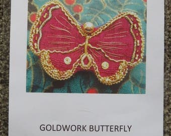 GoldWork Brooch   Embroidery Kit