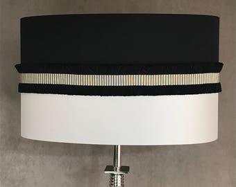 TOELA lamp - Shade silk bi - color