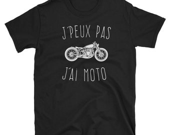 I can not I motorcycle T-shirt man Short - Sleeve Unisex T-Shirt