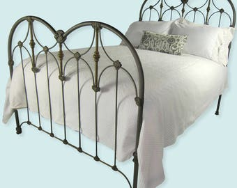 Vintage iron bed Etsy