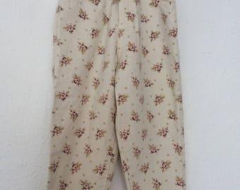 Vintage Kids Designer Ralph Lauren 90s Classic Floral Denim Jeans  3-4 Y