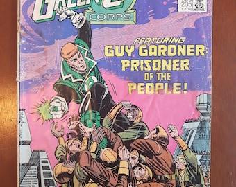 GREEN LANTERN Corps vol 1 no. 205 Canadian Cover Variant 1986 DC Comics