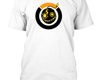 Overwatch Junkrat Inspired T-Shirt 3 Different styles to choose.