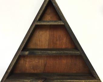 Alchemy Triangle Display Shelf