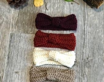 Knit Turban Style Headband