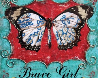 Brave Girl Wings ArtPrint