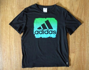 Adidas 3 Stripe Logo Tee